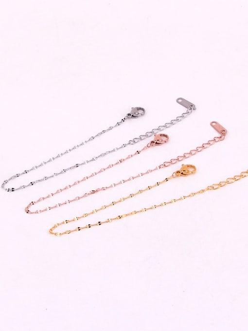 K.Love Titanium Steel Irregular Minimalist Link Bracelet 1
