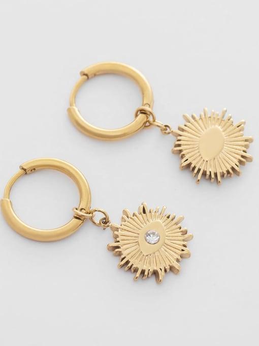 YAYACH Vintage Design Eye stainless steel earrings 1