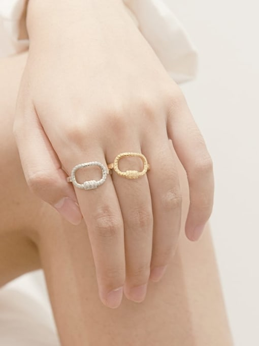 YAYACH Shangshan buckle design stainless steel ring 2