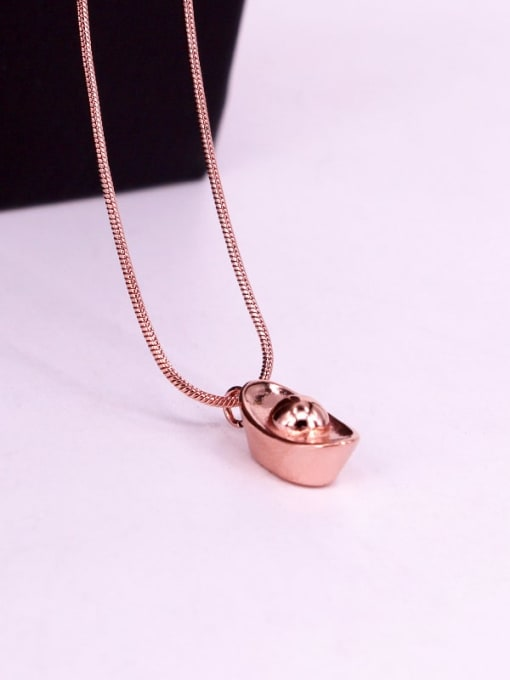 K.Love Titanium Steel Geometric Minimalist Necklace 2