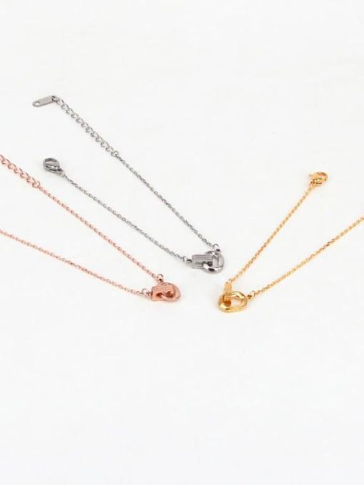 K.Love Titanium Steel Geometric Vintage Bracelet 0