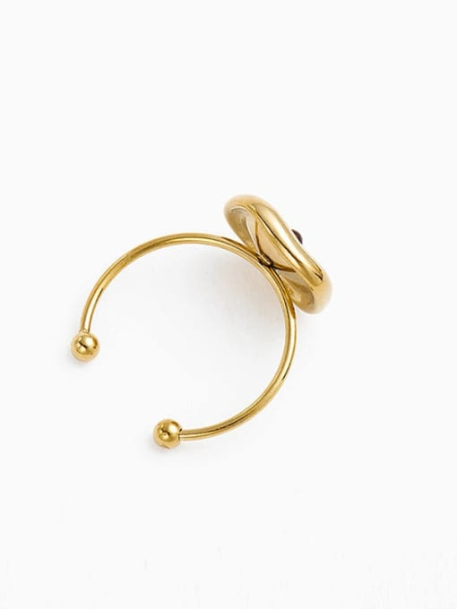 YAYACH Fashion solar system stainless steel ring 1