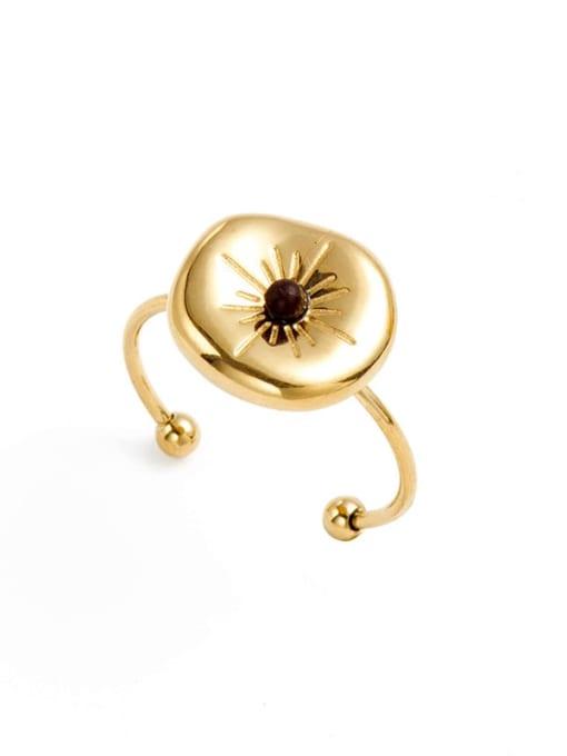 YAYACH Fashion solar system stainless steel ring 0