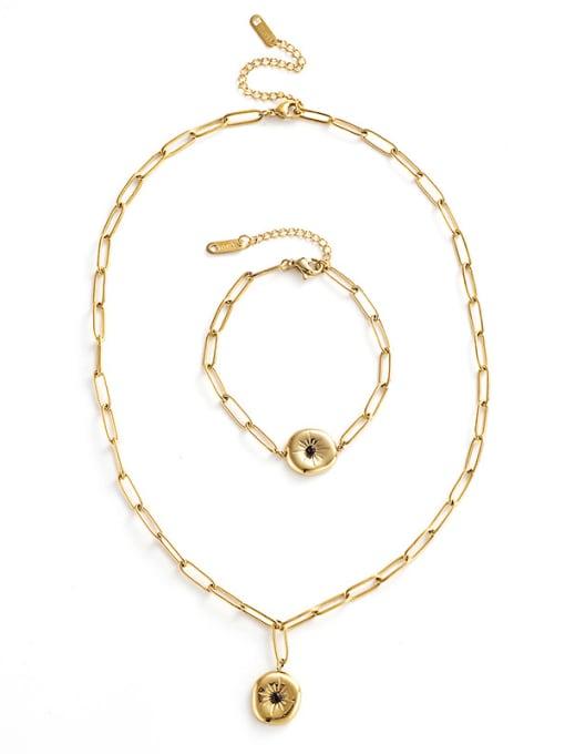 YAYACH Niche design pendant vintage necklace 0