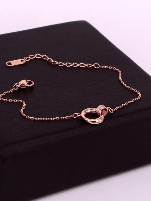 K.Love Titanium Steel Hollow Irregular Vintage Bracelet 2