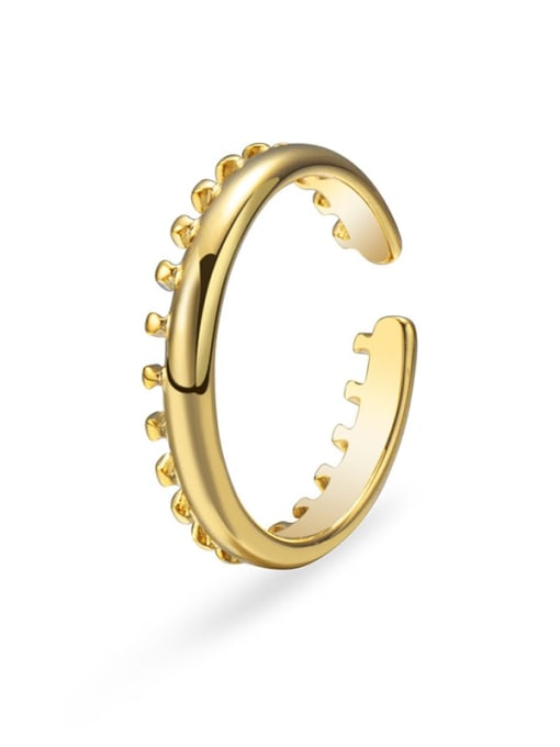 Gold Stainless steel Minimalist Band Ring