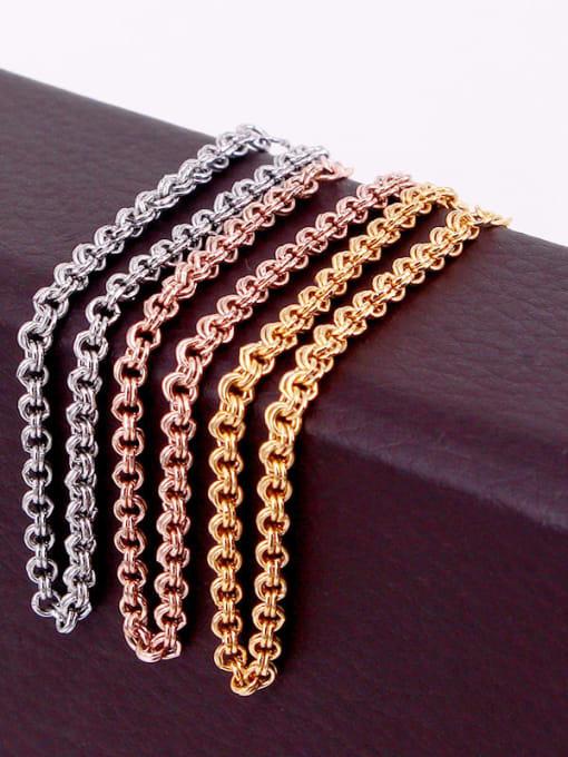 K.Love Titanium Steel Geometric Minimalist Link Bracelet 1