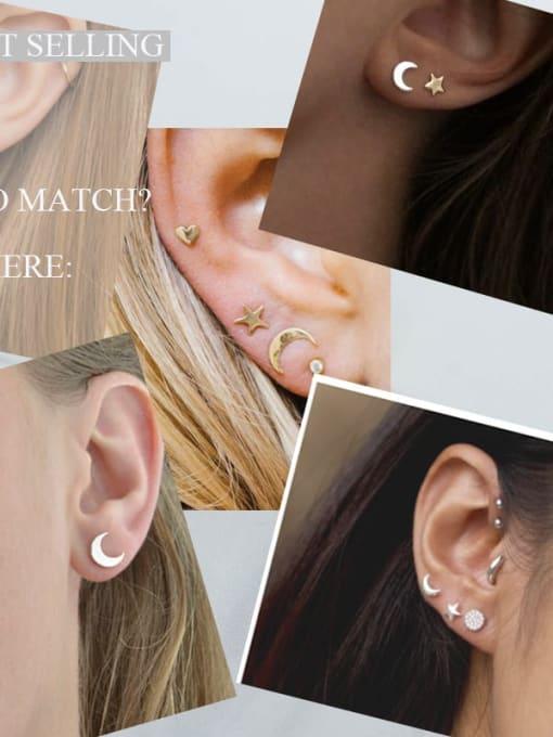 YAYACH Fashion personalized crescent Earrings 1
