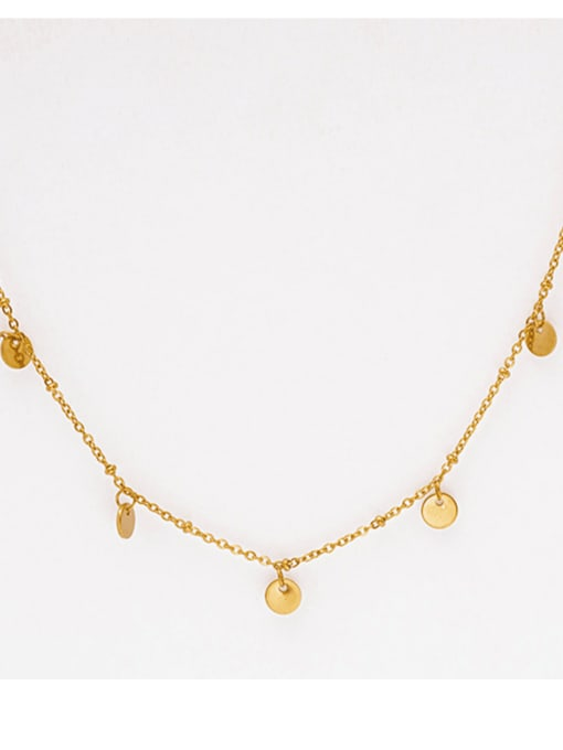 Gold French fine romantic chain snake pendant necklace, fine multi-color multi-layered snake-shaped clavicle chain