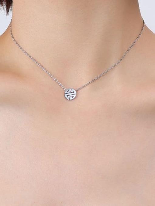 P335 Steel Necklace 40+ 5cm Titanium Steel  Minimalist Irregular Earring Bracelet and Necklace Set