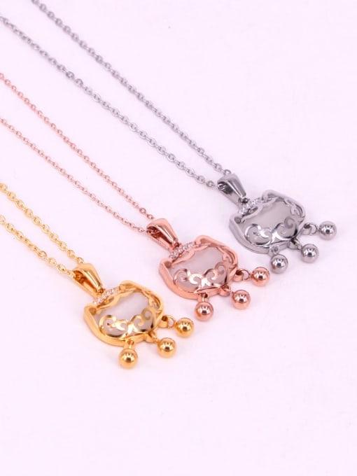 K.Love Titanium Steel Locket Minimalist Necklace 2
