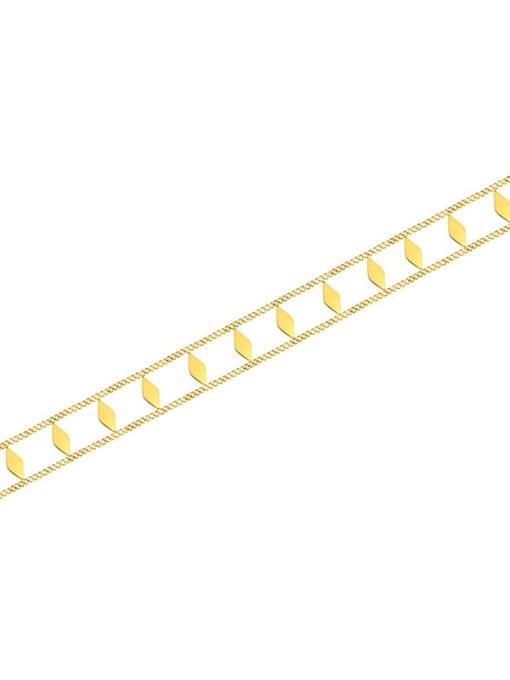 MAKA Titanium Steel Geometric Vintage Choker Necklace 2