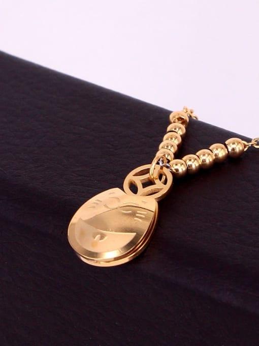 K.Love Stainless steel  Rosary Minimalist Anklet 2