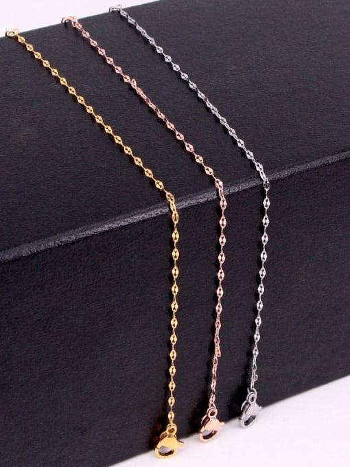 K.Love Titanium Steel Irregular Minimalist Link Bracelet 0
