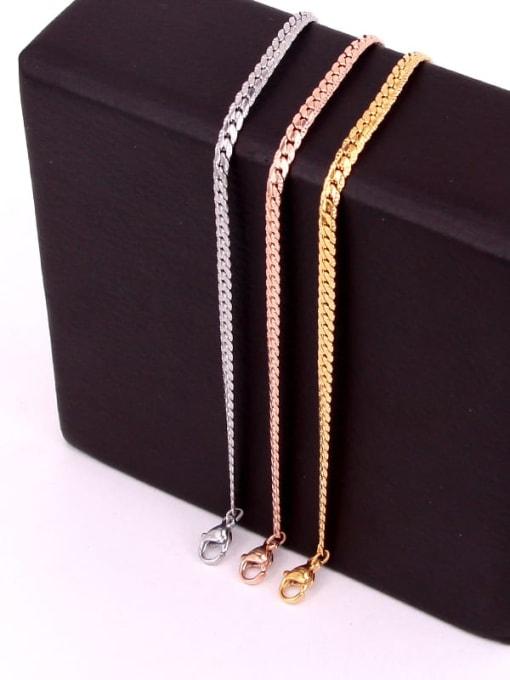 K.Love Titanium Steel Geometric Minimalist Link Bracelet 0