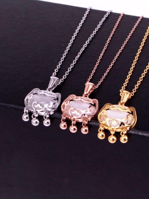 K.Love Titanium Steel Locket Minimalist Necklace 3