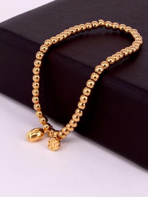 K.Love Titanium Steel Ball Hip Hop Beaded Bracelet 3