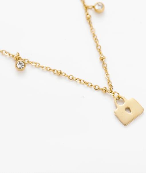 YAYACH Creative key lock pendant necklace 1