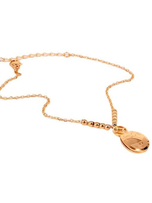K.Love Stainless steel  Rosary Minimalist Anklet 1