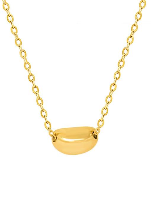 MAKA Titanium Steel Geometric Minimalist Necklace 0