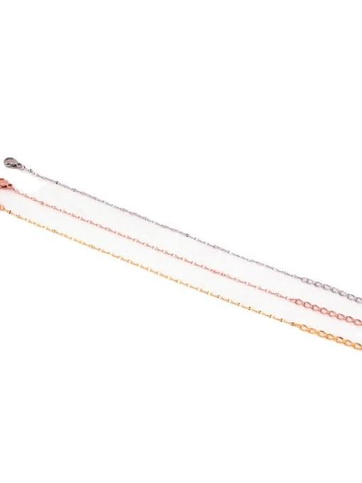 K.Love Titanium Steel Irregular Minimalist Link Bracelet 4