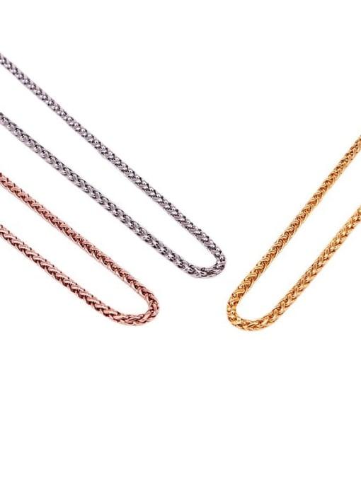K.Love Titanium Steel Geometric Minimalist Necklace 1