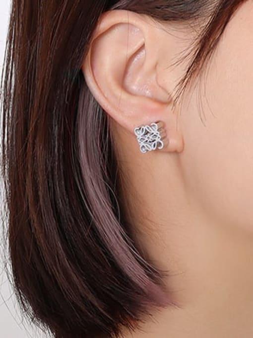 steel Titanium Steel Geometric Vintage Stud Earring