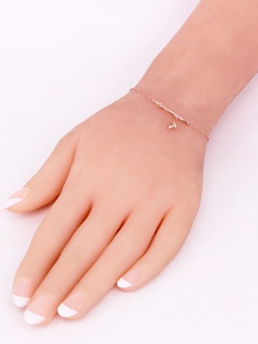 K.Love Titanium Steel Geometric Minimalist Adjustable Bracelet 2