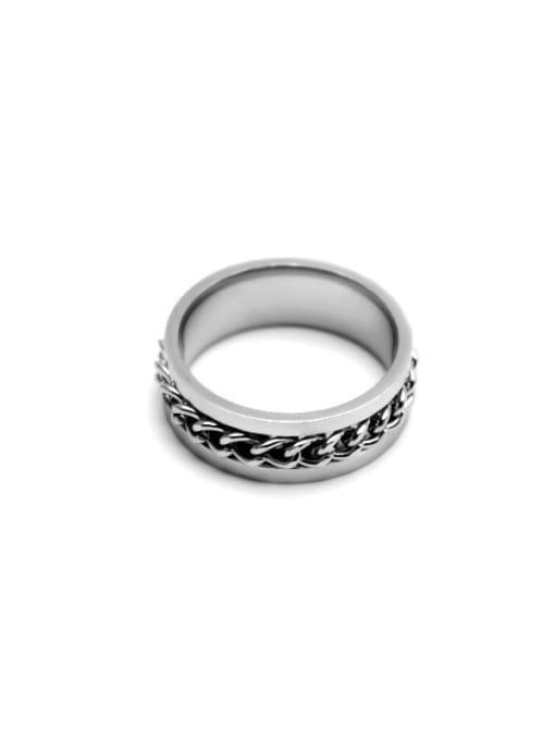YAYACH Chain rotation steel ring