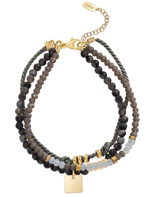 YAYACH Handmade diy simple personality stainless steel jewelry