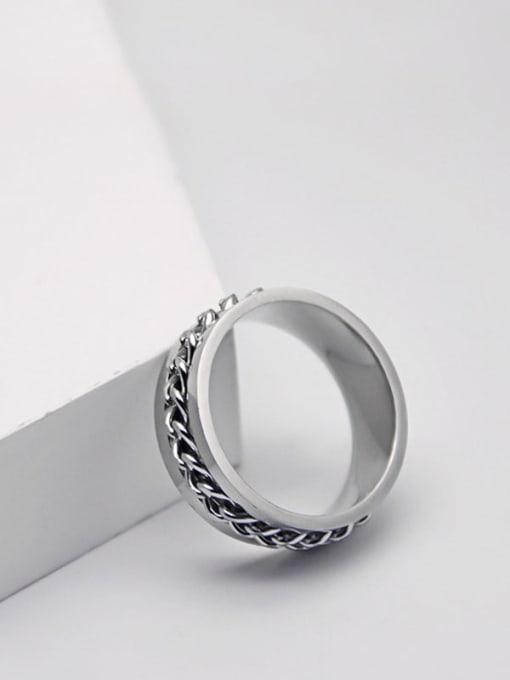 YAYACH Chain rotation steel ring 1