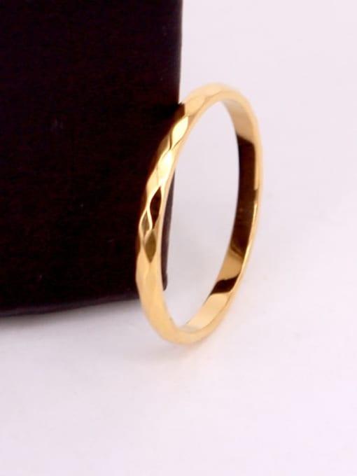 K.Love Titanium Steel Round Minimalist Band Ring 2