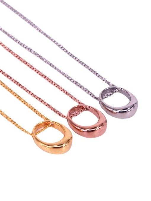 K.Love Titanium Steel Geometric Minimalist Necklace