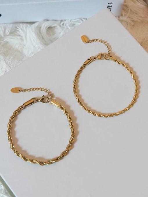 YAYACH Twist chain stainless steel bracelet 2