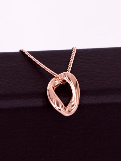 K.Love Titanium Steel Hollow Geometric Minimalist Necklace 1