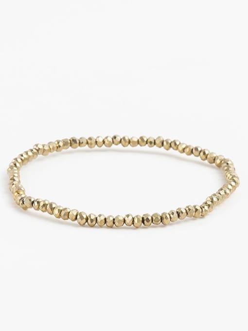 YAYACH Natural stone Beaded key pendant bracelet 3