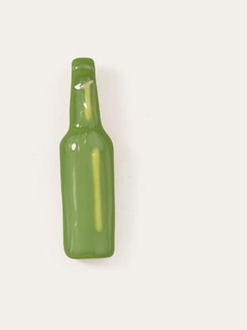 Five Color Alloy Enamel Geometric Minimalist  Wine bottle Stud Earring 2
