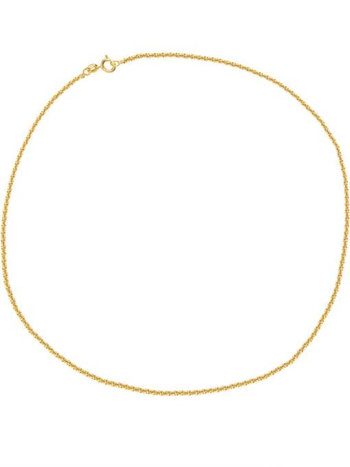 HYACINTH Brass Geometric Minimalist Necklace 3