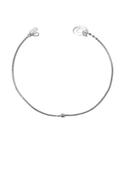 TINGS Brass Irregular Vintage Necklace