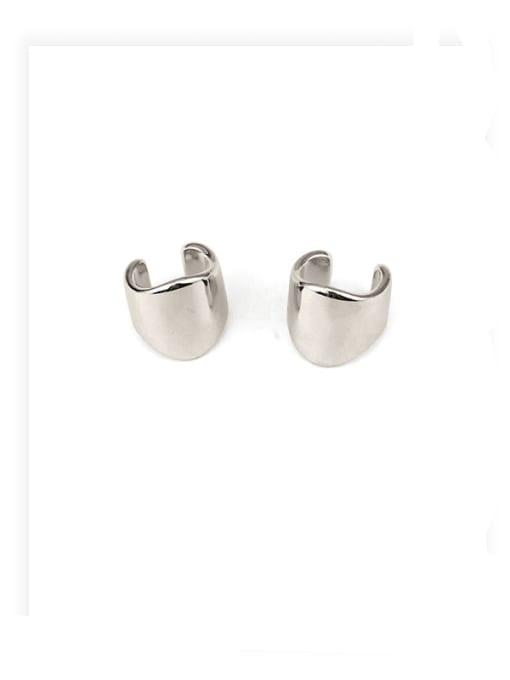 ACCA Brass Irregular Minimalist Single Earring (Single) 0