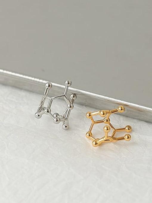 ACCA Brass Irregular Minimalist Single Earring 2