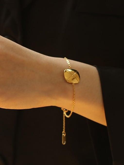 ACCA Titanium Geometric Vintage Link Bracelet 1