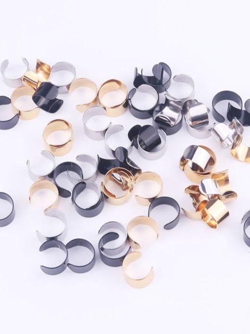 HISON Stainless steel Geometric Minimalist Clip Earring 2