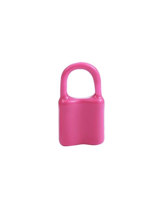 Pink Earrings single sale Brass Multi Color Enamel Locket Minimalist Huggie Earring
