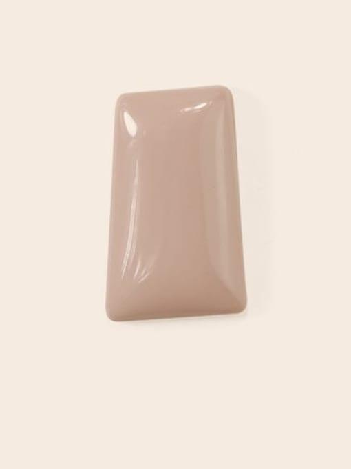 Naked Pink Earrings Alloy Enamel Geometric Cute Stud Earring
