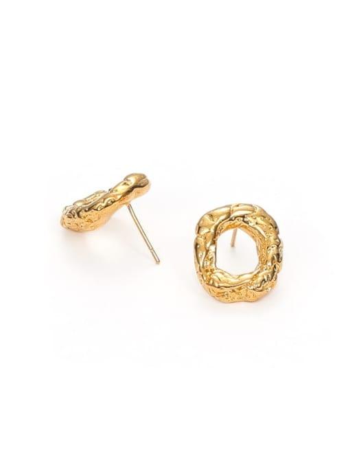 Five Color Brass Geometric Vintage Drop Earring 2