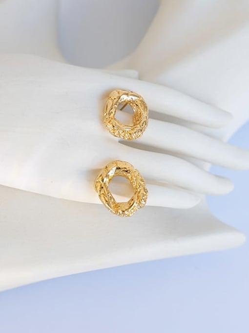 Five Color Brass Geometric Vintage Drop Earring 0