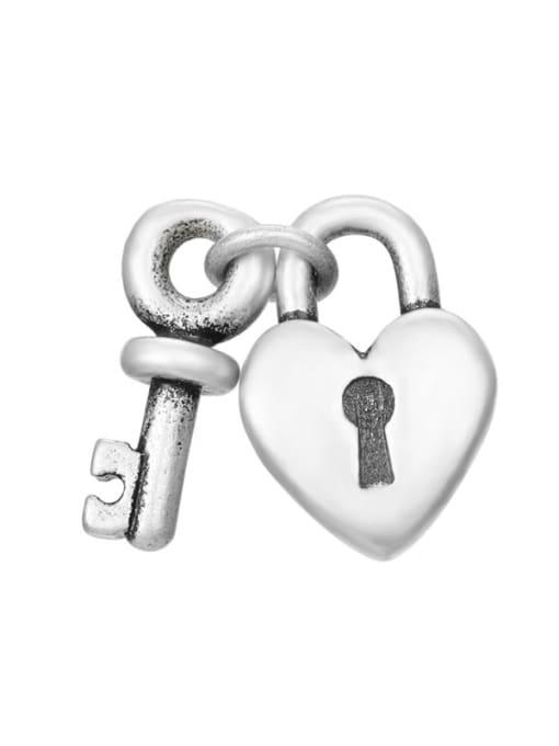 Desoto Stainless steel Vintage Key  Pendant DIY 0