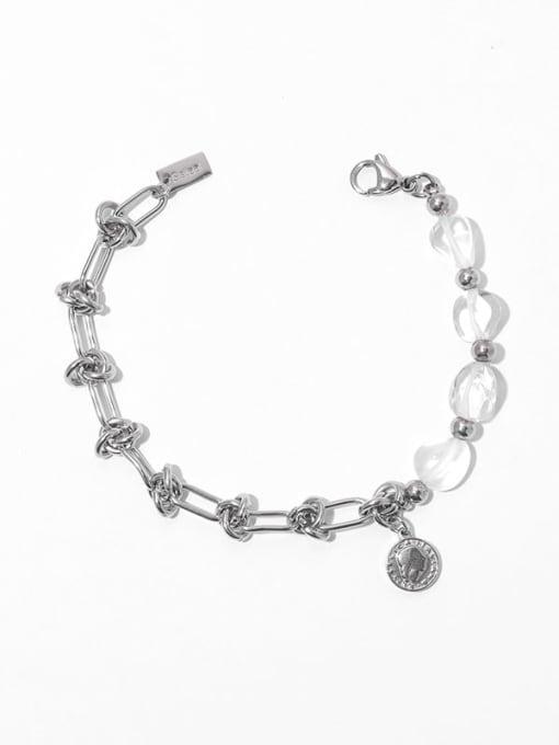 Bracelet Brass  Hollow knot Hip Hop Link Bracelet