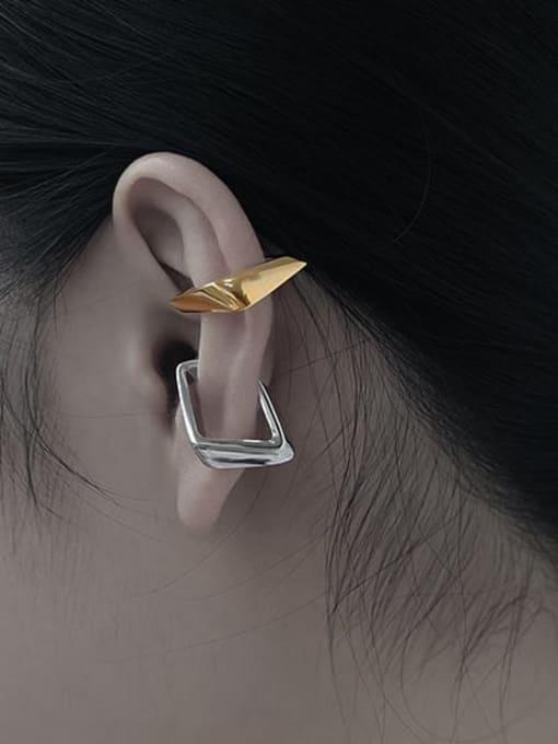 TINGS Brass Geometric Minimalist Single Earring 1